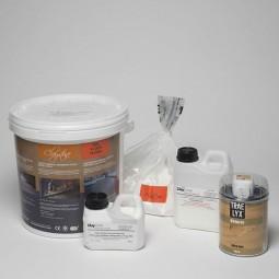 Mini kit Claystone - SOL et PLAN DE TRAVAIL
