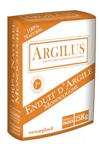Sac d'enduit à l'argile monocouche Argilus