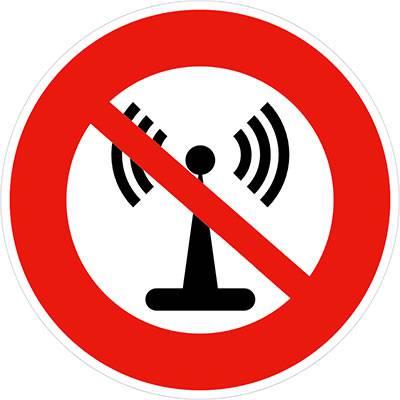 Logo anti ondes électromagnétiques