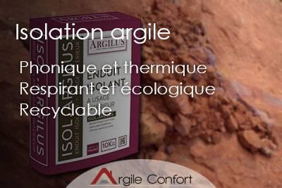 Isolation argile