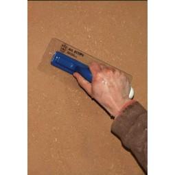 Utilisation spatule plastique