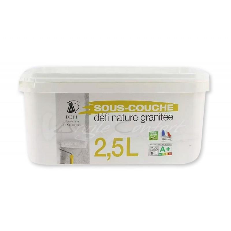 Sous-couche granitée naturelle 2,5 litres