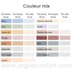 Tableau couleur mix