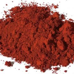 Pigment naturel minéral Ocre rouge Apt