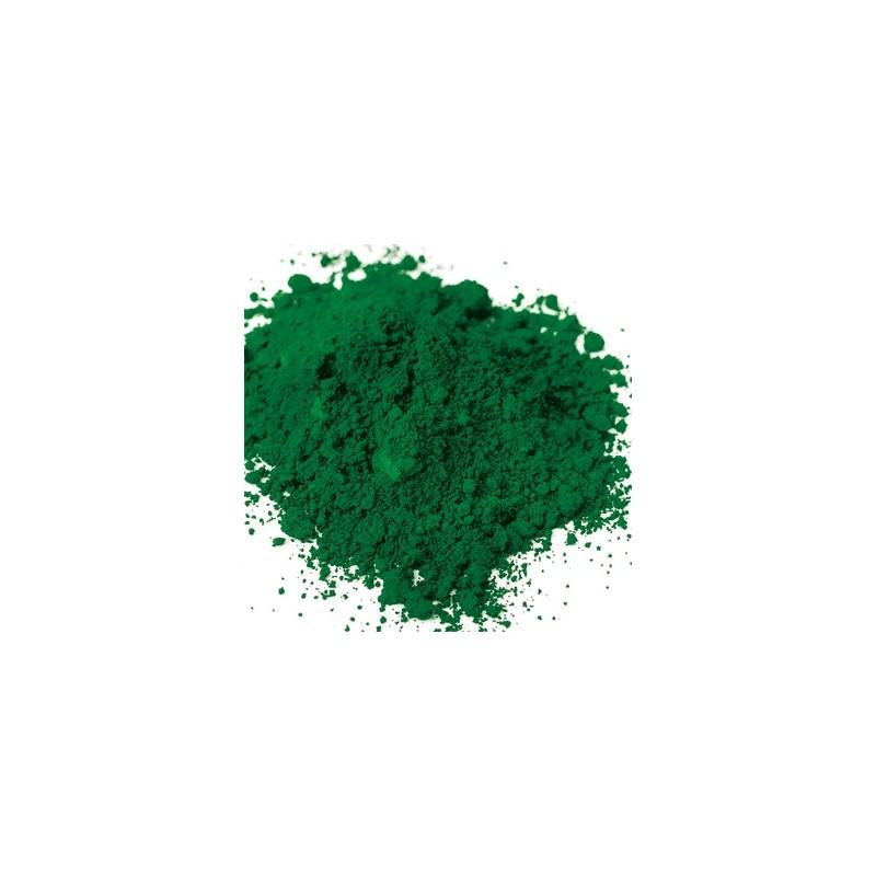 Pigment oxyde synthétique Vert foncé rv15