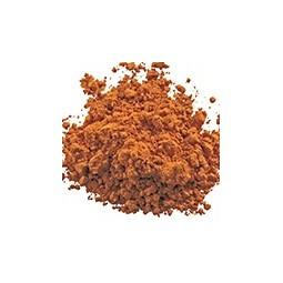 Orange céramique et émaux