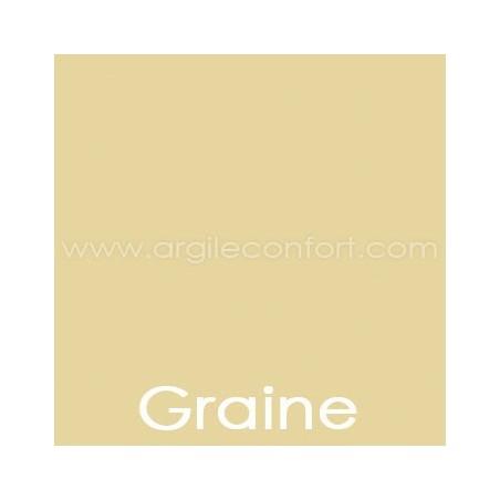 Peinture végétale Graine