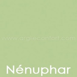 Peinture végétale Nénuphar