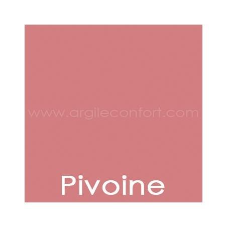 Peinture végétale Pivoine