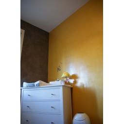 Stuc d'argile- Gris ardoise / Jaune de provence