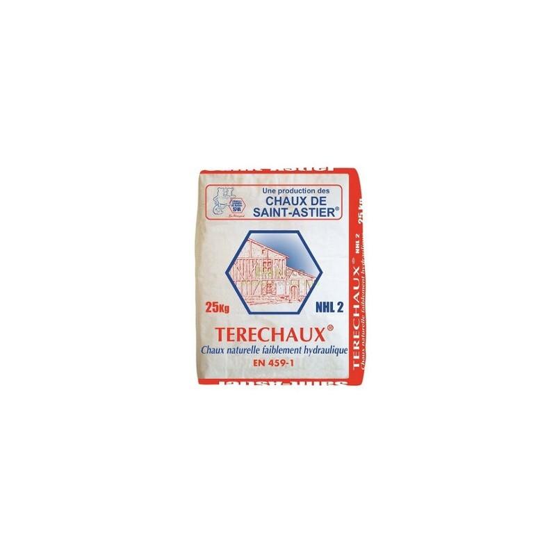 Chaux hydraulique NHL2 - Sac 25 Kg