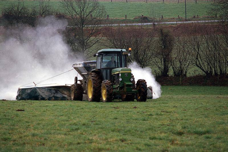 Chaulage agricole