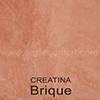 Creatina teinte: Brique
