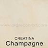 Creatina teinte: Champagne
