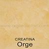 Creatina teinte: Orge