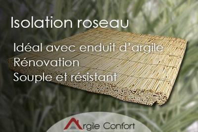 Isolation roseaux